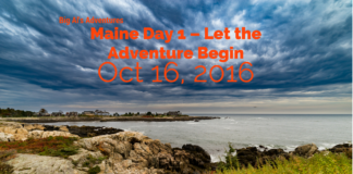 Maine Day 1 – Let the Adventure Begin