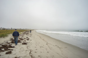Misty Day at Old Orchard Beach